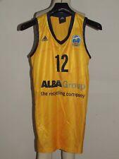 Shirt Maillot Tank Top Basketball Sport Alba Berlino Berlin Schmitt 12 size S