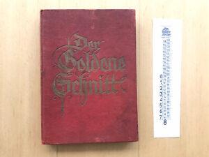 Der Goldene Schnitt das Werk zur Selbstausbildung im Zuschneiden Buch 1941