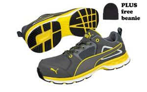 Puma Pace 2.0 643807 safety work shoe Mens AU sizes PLUS bonus beanie PUMA boots