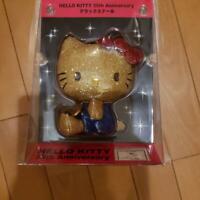 Hello Kitty plush doll 35th anniversary delux stuffed toy Sanrio Limited Rare