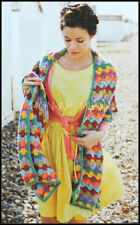 Crochet Pattern • Ladies Womens • Shawl • Stole • Cover-Up • Wrap • Long Scarf