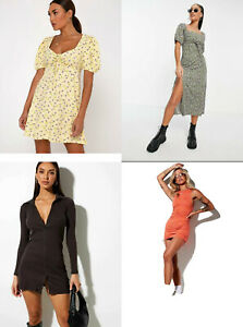 10 WHOLESALE JOBLOT Branded Designer Clothing Ladies Motel Rocks Bulk Dress New