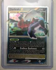 Unplayed Pokemon DARKRAI LV.X Card GREAT ENCOUNTERS Set 104/106 Diamond & Pearl