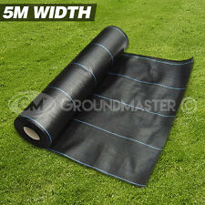 5M X 50M GROUNDMASTER™ HEAVY DUTY WEED CONTROL FABRIC GROUND COVER  MEMBRANE
