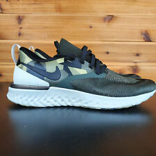 Nike ODYSSEY REACT 2 Flyknit GPX AT9975 Men's Running Shoe Camo Green Olive