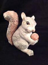 BOEHM Edward Marshall Porcelain Squirrel Figurine Figure Animal Statue *Flaws*