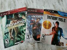 PS3 PLAYSTATION 3 DEMO DISC LOT UNCHARTED, INFAMOUS 2