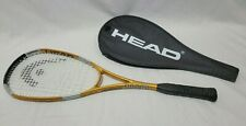 *New Deadstock* Head Liquidmetal 140 Squash Racquet Racket with Cover-Exc+