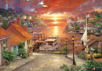 Jigsaw puzzle Seagull and travel scenery 38 * 52 cm 500 pieces TP05-1008