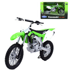 Welly 1:10 Kawasaki KX 250F Motorcycle Model Bike Toy New Green