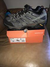 Merrell Moab 2 Vent Beluga Grey Waterproof Hiking Trail Shoes J06015 Men Size 14