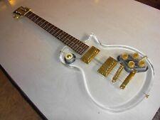 kultige E-Gitarre Taurus Acryl glasklar LP Modell acrylic electric guitar