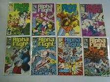 Alpha Flight lot 20 different from #51-76 6.0 FN (1987-89 1st Series)