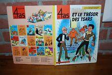 BD LES 4 AS ET LE TRESOR DES STARS EO SEPTEMBRE 1983