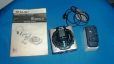 Sharp Portable Minidisc Recorder Md-Ms702 Mk With Manual *Used*Untested*