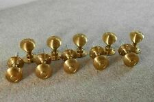 More details for 5 pairs of classic solid brass victorian style beehive door knobs knob handle a1