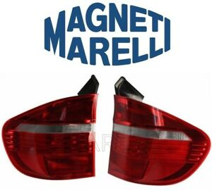 For BMW E70 X5 2007-2010 Pair Set of Left & Right Outer Tail Lights OEM Marelli