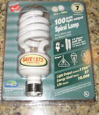 Commercial Electric 75 Watt Light Output SPIRAL LAMP, Medium Base.