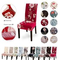 Universal Floral Printed Stretch Dining Chair Cover Seat Slipcovers Party Decor*