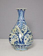 Chinese  Blue and White  Porcelain  Vase     M1532