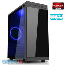 AMD A10 9700 Quad Core 3.5ghz 8GB DDR4 1TB Desktop Gaming PC Computer cx10