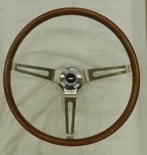 """1967 1968 Camaro Wood Grain Steering Wheel Kit """" Complete """" (IN STOCK)"""