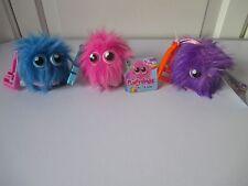 Flufflings Lulu Mimi & BIBI amis avec peignes Clip On Soft Toys neuf avec étiquettes