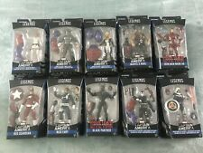 Marvel Legends Captain America Avengers Nick Fury Series - SET OF 10