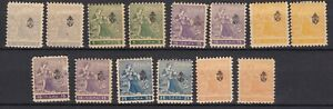 Serbia - 1911 - collection - MH/MNH
