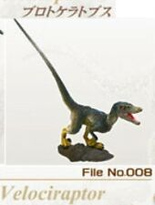 Retired Kaiyodo UHA Collect Club Dinosaur Velociraptor PVC Figurine Figure Model