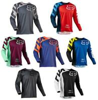 FOX Race 180 Riding Jersey T-shirts Men Motocross/MX/ATV/BMX/MTB Dirt Bike Adult