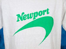vintage 80s Newport Cigarettes Paper Thin T-Shirt Large tobacco camel marlboro