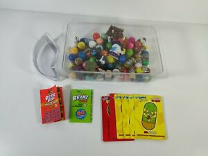 Mighty Beanz Lot of 40+ Mini Figures Collectible Toys