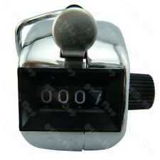 3x Mechanical Hand Tally Counter Clicker Sport Doorman Head People Goat