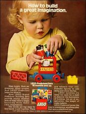 1977 Vintage ad for Lego` toys`little girl`little boy (051214)