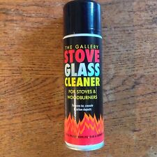 STOVE GLASS CLEANER FOR STOVES & WOODBURNERS 320ML REMOVES TAR CREOSOTE ETC