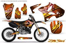 YAMAHA YZ125 YZ250 2 STROKE 2002-2014 GRAPHICS KIT CREATORX DECALS LSO