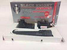 Pelican Black Knight M9 Rechargeable Flashlight Professional US Law Enforcement