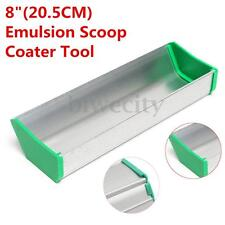 1PC Aluminum 8'' (20CM) Emulsion Scoop Coater Silk Screen Printing Press Tool