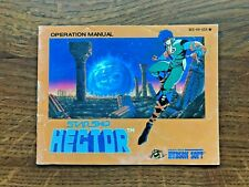 Starship Hector Star Ship NES Nintendo Instruction Manual Only
