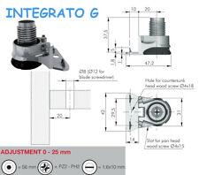Integrato G Adjustable Levelling Feet For Aligning Heavy Furniture
