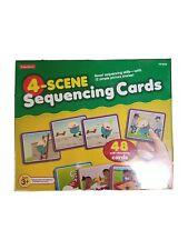 Lakeshore 4-scene Sequencing Cards 48 pieces New