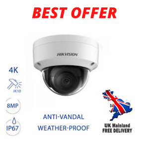 Hikvision 8MP, 4K VanDome IP Indoor, IP67 Camera (DS-2CD2183G0-I) 2.8 mm