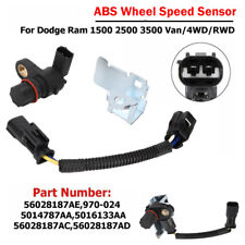 NEW ABS Wheel Speed Sensor FOR Dodge Ram 1500 2500 3500 replacement 56028187AD
