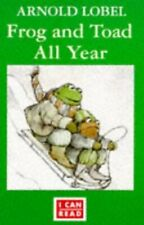 Frog and Toad All Year (I Can Read S.) by Lobel, Arnold Paperback Book The Cheap
