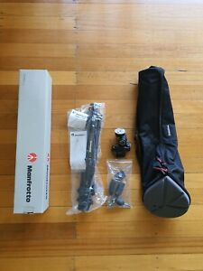 Manfrotto 190xprob 804rc2 Tripod Kit (New) with Tripod Case Mbag80