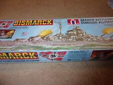 Lindberg BISMARCK WWII German Battleship Plastic Model Kit 70825 1:350 NEW