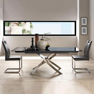 Tavoli In Acciaio Di Allungabile Per La Casa Acquisti Online Su Ebay