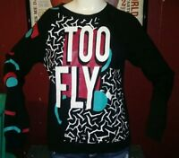 Mighty Fine Vintage 90's Too Fly Sweatshirt Size Large