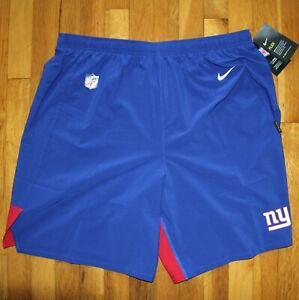 Nike New York Giants On Field Dri-Fit  Flex Football Shorts Mens XXL CI2404-495